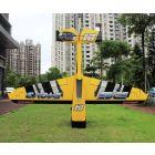 "37% 107"" Edge 540 V3 100-120cc Yellow Print ARF"