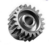 1014  Pinion Gear w/3mm Bore 48P 14T - Nickel Plated Steel