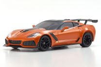 32334OR MINI-Z RWD Corvette ZR1 Sebring Orange w/LED