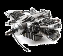 61cc 4-Stroke Gas Twin Engine