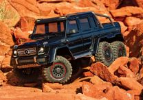 1/10 Mercedes-Benz G 63 AMG TRX6 6x6 Crawler - Black