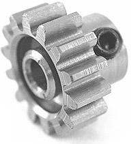 0130  Pinion Gear w/3mm Bore 32P 13T - Steel Alloy