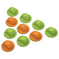 Gate Marker Set Green/Orange (10)