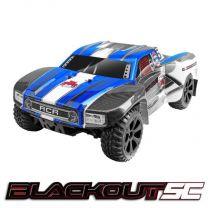 1/10 Blackout SC Short Course Truck Electric - Blue
