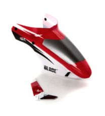 Complete Red Canopy with/ Vertical Fin: BMSR
