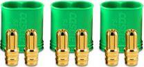 POL BULLET CONN MALE 6,5mm set