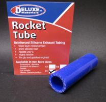 Rocket Tube Blue 21mm Bore 10cm Length