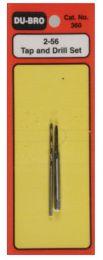 Tap & Drill Set 2-56