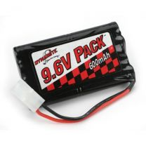 600mAh NiCd 9.6V 8-Cell - Toy Pack