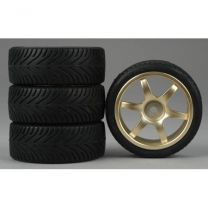 6-Spoke Gold Wheel, Radial (4)