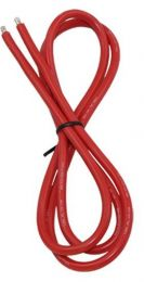 13AWG Silicone Wire 3\', Red