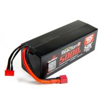 LiPo HV 15.2V 5000mAh 4S 50C Reaction2, Case:Deans
