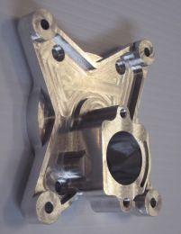 Rear crankcase half/backplate - ZDZ180B2RV-J Champion