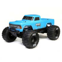 1/10 Amp Crush 2WD Monster Truck Brushed RTR, Blue