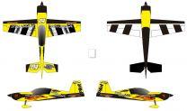 "35% 107"" Extra 330LX 100-120cc Print Yellow"
