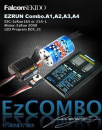 EZRUN Combo for 1/18 Car (A1 Series-12T)