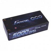 5000mAh 7.4V 60C 2S2P Lipo Battery Shorty Pack 29#