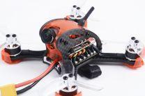 Falcon CP90PRO Mini FPV Quadcopter BNF Red - DSMX RX