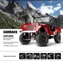 SAWBACK 1/10TH SCALE CRAWLER KIT - 4WD