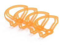 2 Inch Propeller Protective Guard Half Surround Orange - 4 pcs