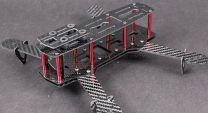 FPV Quadcopter (Carbon Fiber / Barebone Frame) - Conversion Kit 250