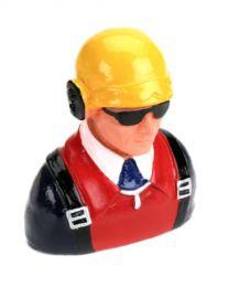 1/7 Pilot-Civilian W/Helmet, Headphones & Sunglass