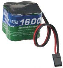 NIMH 4C 4.8V 1600 SQ RX U 2/3A