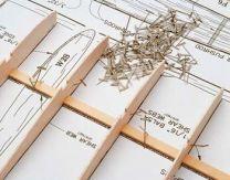 "Hobbico Steel T-Pins 1-1/4"" (100)"