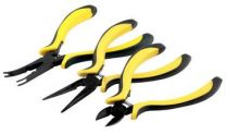 Pliers 3 Piece - Needle Nose, Side Cutter, Ball Link