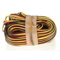 50' 3-Color Heavy Gauge Servo Wire