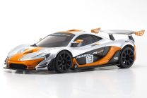 MINI-Z RWD McLaren P1 GTR Silver/Orange MR-03