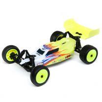 1/16 Mini-B, Brushed, RTR: 2WD Buggy, Yellow/White