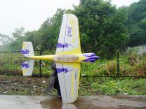"Sbach 342 100CC 107"" CF version S-09 Yellow/Silver"