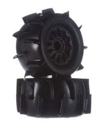 """Sand Paw 2.8\"""" All Terrain Tires Mounted (2)"""