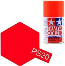 PS-20 Fluorescent Red Spray - 3,4oz/100ml