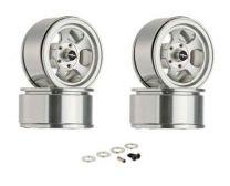 "Truckie 1.55\"" Beadlock Wheels (4)"