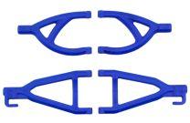 RPM Rear A-arms for 1/16th Scale Mini E-Revo - Blue