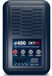 SkyRC e450 Battery Charger, AC Only, 4A, 50W