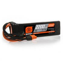 2200mAh 3S 11.1V 100C Smart LiPo Battery; IC3