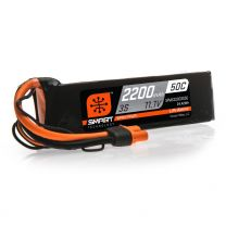 2200mAh 3S 11.1V 50C Smart LiPo Battery; IC3