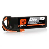 3200mAh 4S 14.8V 50C Smart LiPo Battery; IC3