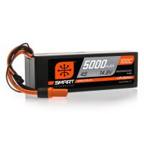 5000mAh 4S 14.8V 100C Smart LiPo Hardcase; IC5