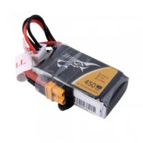 450mAh 2S1P 7.4V 75C LiPo XT30 Plug Soft Case