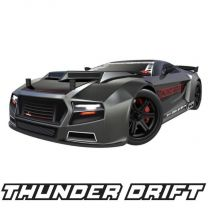 1/10 Thunder Drift Electric RC Drift Car - Gun Metal