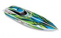"Traxxas Blast 24"" High Performance RTR Race Boat - Green"
