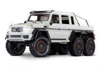 1/10 Mercedes-Benz G 63 AMG TRX6 6x6 Crawler, XL-5 HV, LED Lights, White
