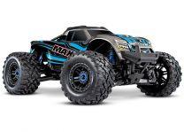 1/10 Maxx with 4S ESC - Blue 4WD Brushless Monster Truck