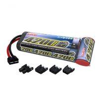 7-C 8.4V 4200mAh NiMH Flat: UNI Plug
