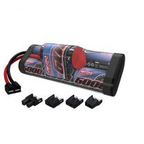 7-C 8.4V 5000mAh NiMH Hump Battery: UNI Plug