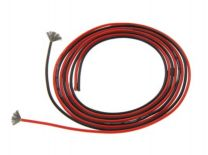 20AWG Soft Silicone Wire BlackRed 1 Meter